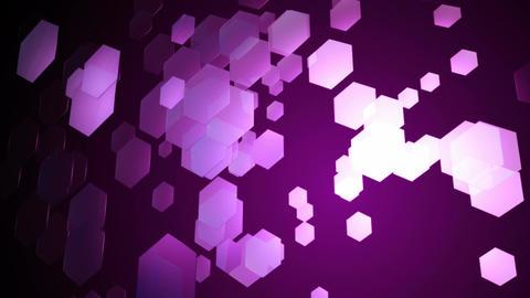 purple hexagonal movement Animation