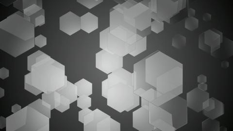 grey hexa movement Animation