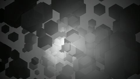 monochome hexa wave Animation