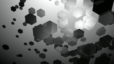 duotone glow hexagons Animation