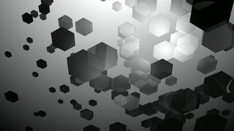 duotone glow hexagons Animation