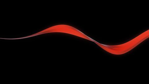 orange band moving with alpha Animation