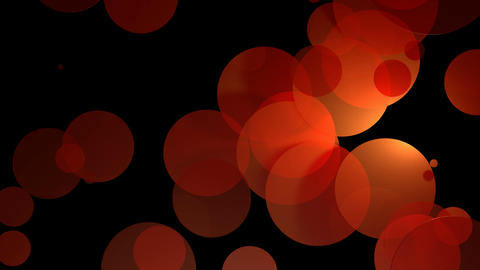 reddish yellow circles Animation