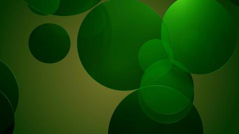 green glossy circle Animation