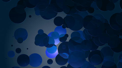 bluish circle dance Animation