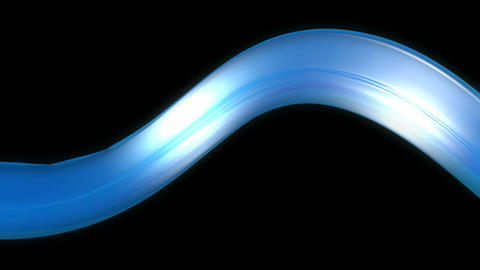 blue reflective band Animation