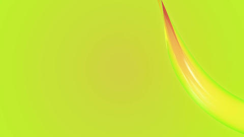 colorful waving band Animation