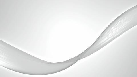 soft white ribbon Animation