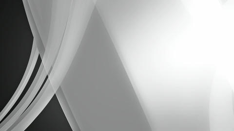 white elegance ribbon Animation