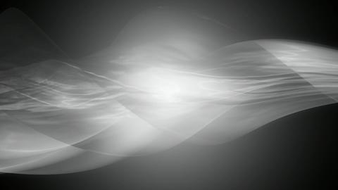 monochrome ribbon glowing Animation