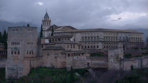 Alhambra, wonderful Footage