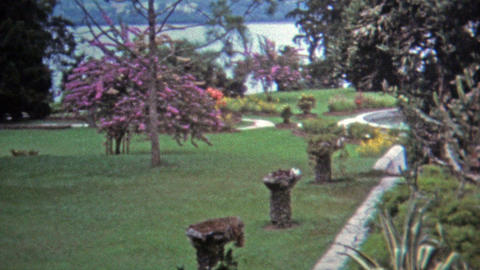 1973: Tiger Balm Gardens before the sign was changed to Haw Par Villa Footage