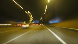 Motorway Rage Camera Car High Speed Footage