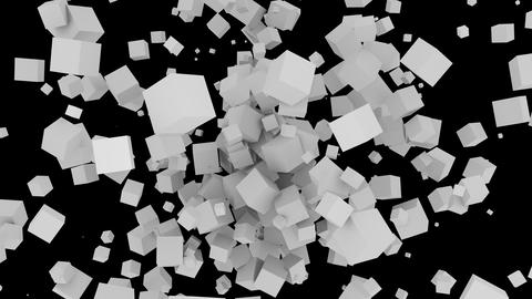 Many Cube Png 1 stock footage