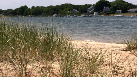 Waterfront homes from Washburn island Footage