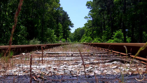 Rusty tracks Footage