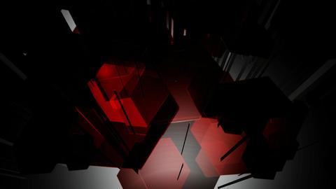 hexagonal burst lines Animation