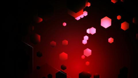 red hexa lights Animation