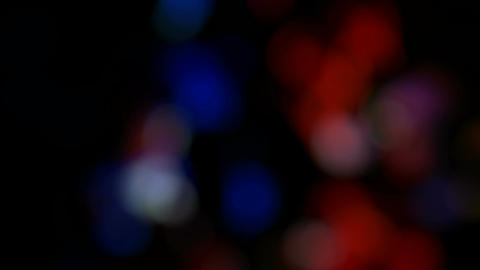 night bokeh lights Animation