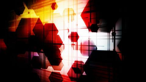 grid light hexagons Animation