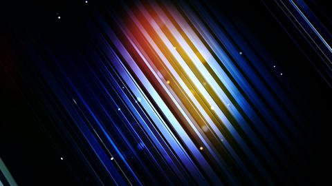 glowing blue slant Animation