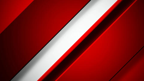 red white slant Animation