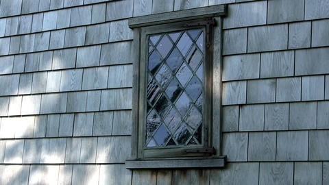 Hoxie house window Footage