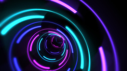 Kaladiscope Of Colors And Shapes stock footage