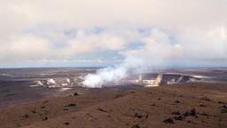 Kilauea Volcano active vent Footage