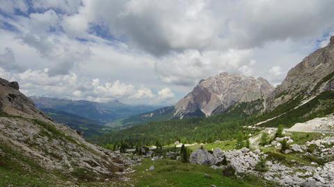 Dolomites stock footage