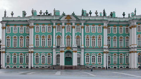 Hermitage Museum Stock Video Footage