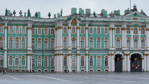 Hermitage Museum Footage