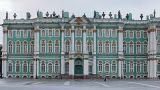 Hermitage Museum stock footage