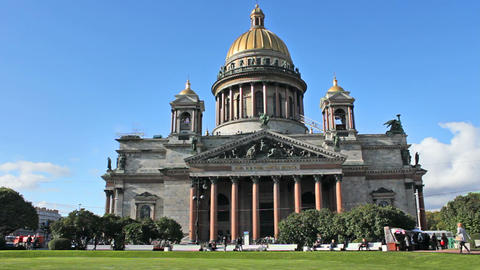 Isaac's Cathedral Stock Video Footage