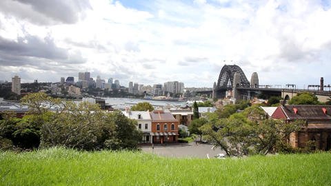 Sydney Harbour Bridge Footage