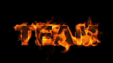 team text,fire business key words Stock Video Footage