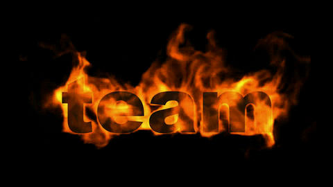 team,fire business key words Animation