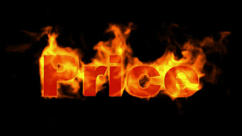burning price text,hot sale Animation