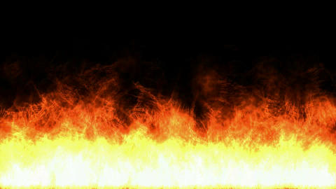 burn fire and flame,accidents of fuel-oil and gasoline Animation