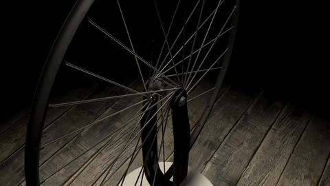 bicycle wheel Animation
