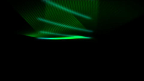 Green motion web grid rays light and ribbon veils,dazzling fiber optic laser Animation
