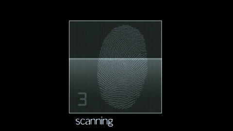 fingerprint identity password scan,tech medical X-ray... Stock Video Footage