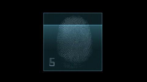 fingerprint identity password scan,tech medical X-ray... Stock Video Footage