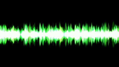 green ray light background,voice noise... Stock Video Footage