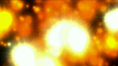 golden fire and... Stock Video Footage