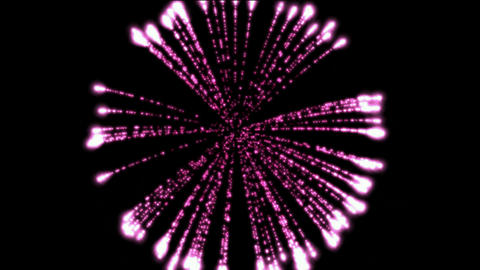 purple circle fireworks at night,holiday and Wedding Stock Video Footage