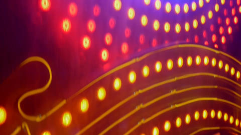 Neon 4 Stock Video Footage