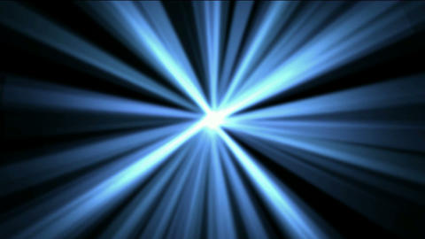 blue rays laser light in space,flare sunlight Stock Video Footage