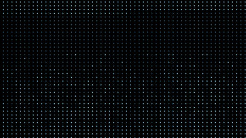 blue particles and dots,grid background,screen and moniter Stock Video Footage