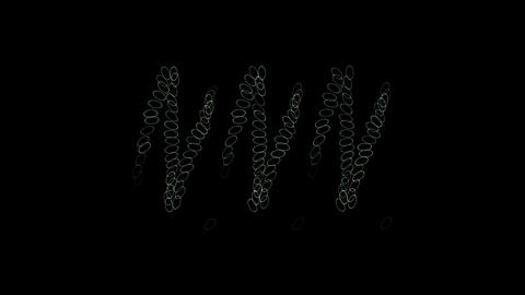 rotation pattern,rope,stirring,chain Animation